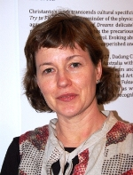 Christine Clark, project manager for APT and also a selector of Indonesian artists