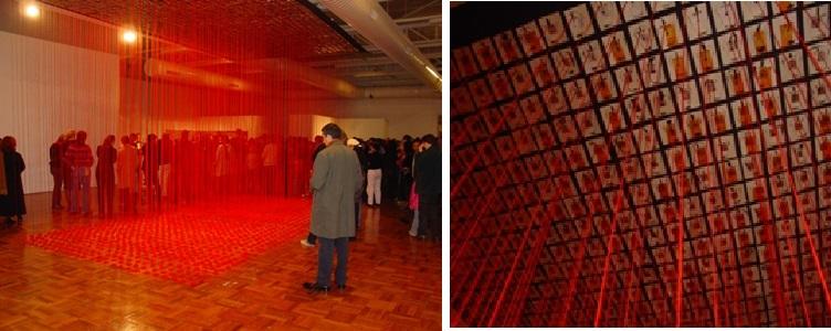 Dadang Christanto, Hujan Merah, Red Rain, Canberra, 2003