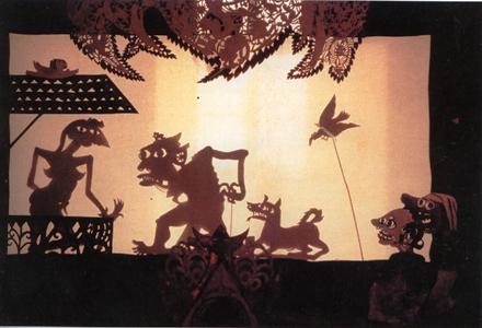 Heri Dono, Wayang Legenda, 1988