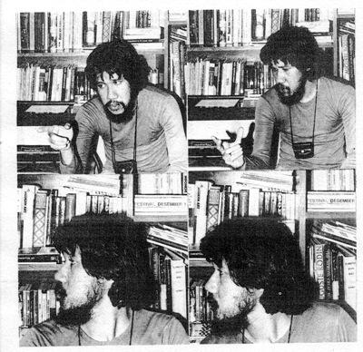 Jim Supangkat, images accompanying his essay in the manifesto of GSRB titled, Wawancara saya dengan saya (I interview myself)