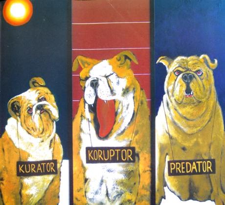 Masdibyo, Trio Guk Guk, 2005. (Barking Trio)